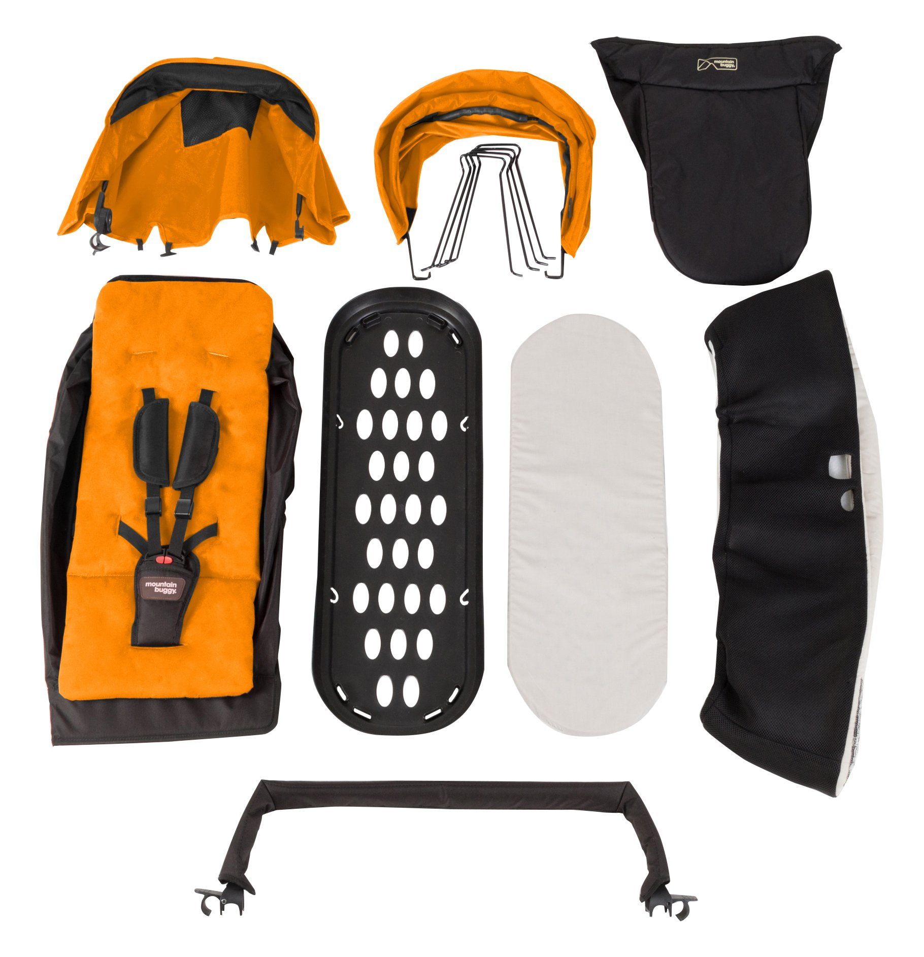 Mountain Buggy Duet Family Pack, Orange