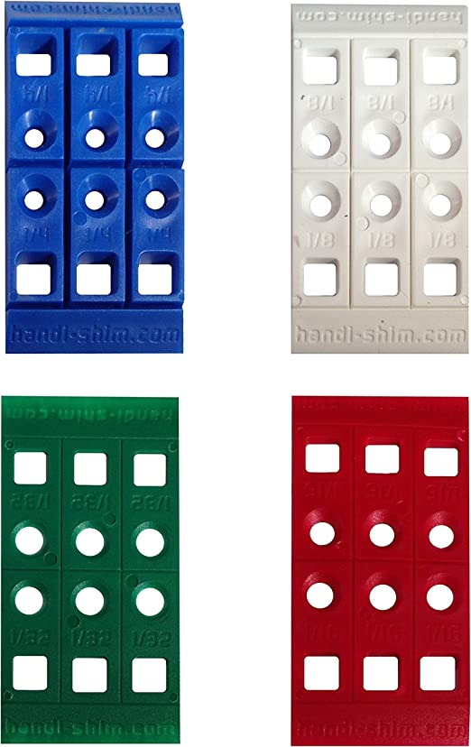 70mm x 70mm x 20mm SQUARE SHIMS PLASTIC PACKERS HEAVY DUTY PAILS SPACERS WEDGES