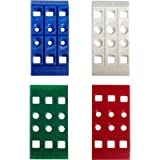 Handi-Shim Heavy Duty Reusable Plastic Construction Shims for Spacing Leveling Plumbing and more - 100 Piece Assorted…
