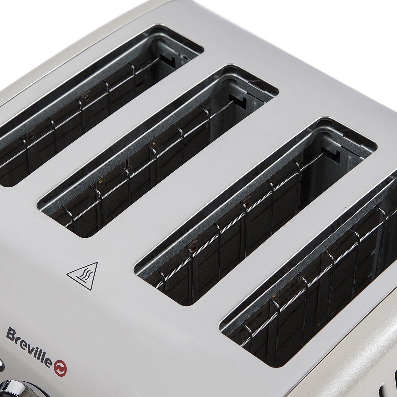Breville Aurora 4 Slice Toaster - Cream