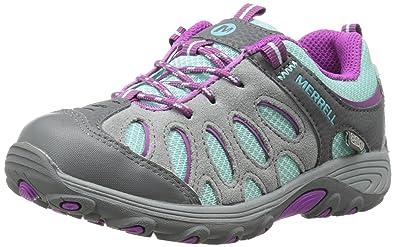 Merrell ML-s Moab FST Low Waterproof, Chaussures de Randonnée Basses Fille - Violet (Berry), 35