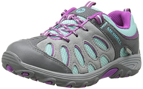 591d4aa0e0 Merrell Chameleon Low Waterproof, Unisex Kid's Lace-Up Low Rise Hiking Shoes  - Multicolour