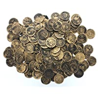 """Fun Express 1 1/2"""" Plastic Pirate Coins (Pack of 144)"""