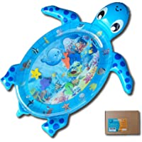 Fun N Well Inflatable Tummy Time Water Play Mat | Large & Cute Turtle Design | Non-Leak & Child-Safe | Fun & Stimulating…