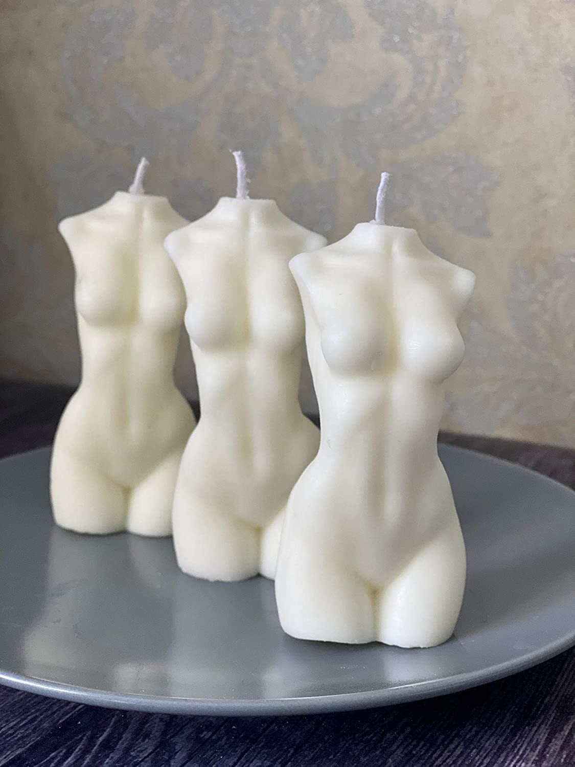 Woman body soy candle Nude Female Candle Bust Goddest candle