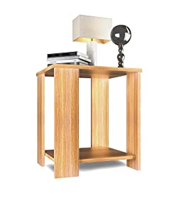 Forzza FO-ST18Tk Bentley Side Table with Storage (Teak)