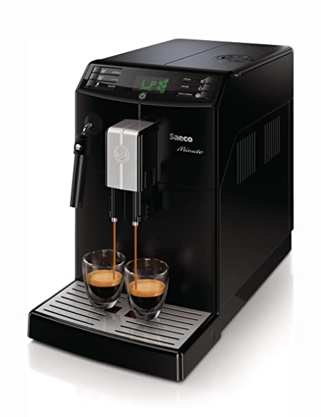 Saeco Minuto HD8761/18 - Cafetera (Independiente, Máquina espresso, 1,8