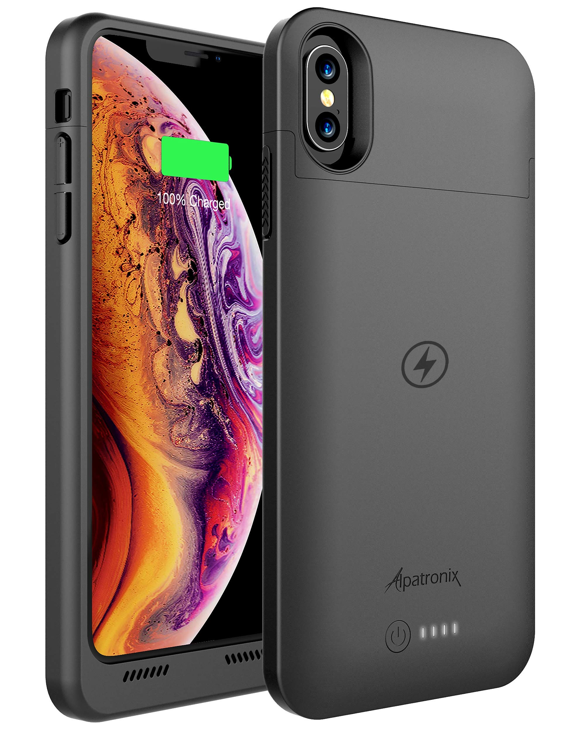 Funda Con Bateria de 5000mah para Apple Iphone Xs Max ALPATRONIX [7H89D68F]