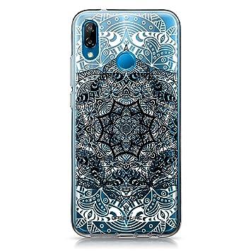 CASEiLIKE® Funda Huawei P20 Lite, Carcasa Huawei P20 Lite, Arte de la Mandala 2097, TPU Gel Silicone Protectora Cover