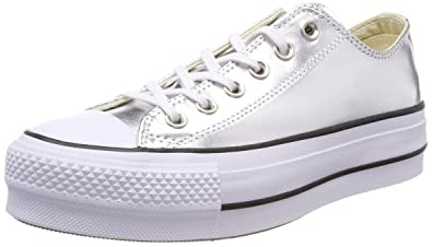 the best attitude 43d0d b51ef Image Unavailable. Image not available for. Color  Converse Women s Chuck  Taylor CTAS Lift Ox Canvas Fitness Shoes ...