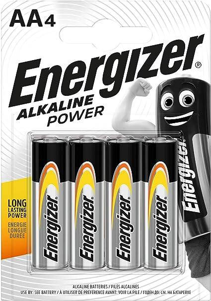 Energizer Batterie Alkaline Power Aa Mignon Elektronik