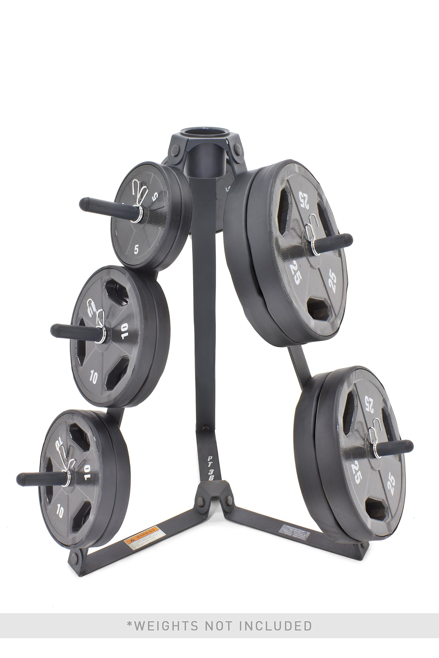 Marcy Plate Tree for Standard Size Weight Plates/Storage Rack for Exercise Weights PT-36 by Marcy