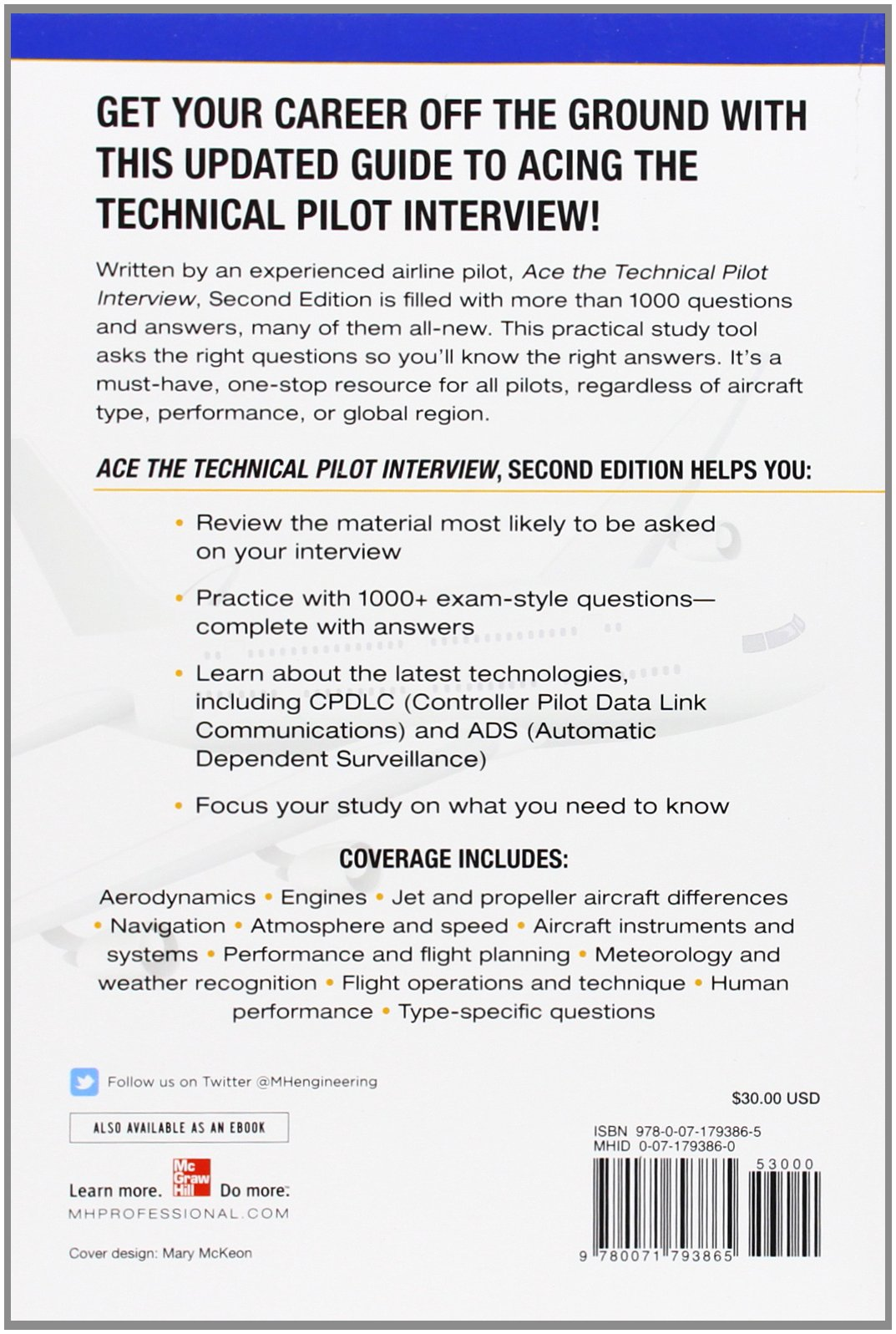 ace the technical pilot interview e gary bristow  ace the technical pilot interview 2 e gary bristow 9780071793865 books ca