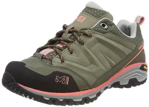 MILLET LD Hike Up, Stivali da Escursionismo Donna, Verde (Vetiver/Peach 8528), 39 1/3 EU