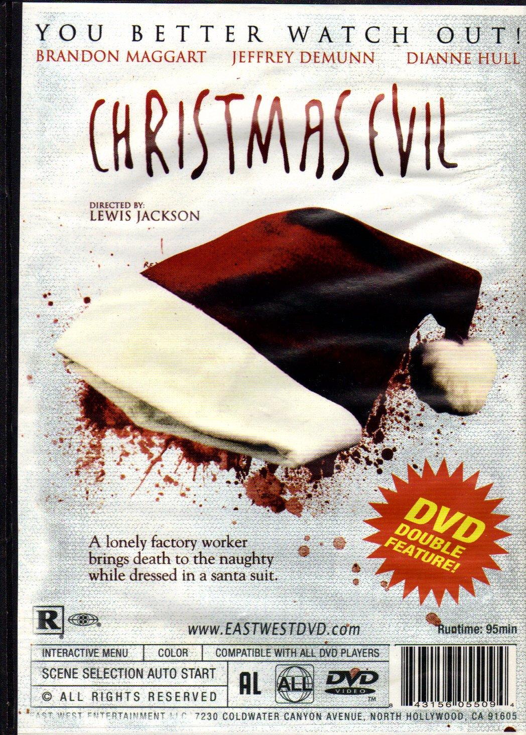 Amazon.com: Carnivore + Christmas Evil (Double Feature)(Slim Case ...