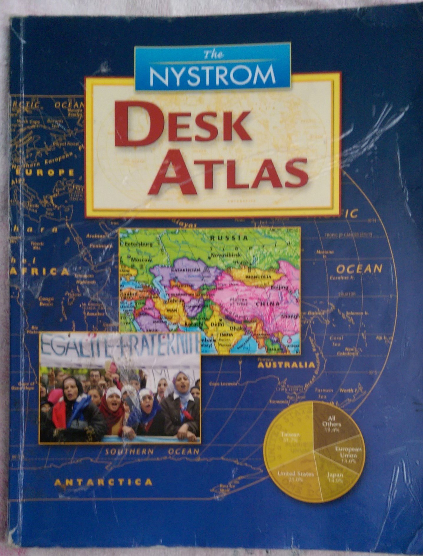 The nystrom desk atlas nystrom 9780782511888 amazon books fandeluxe Images