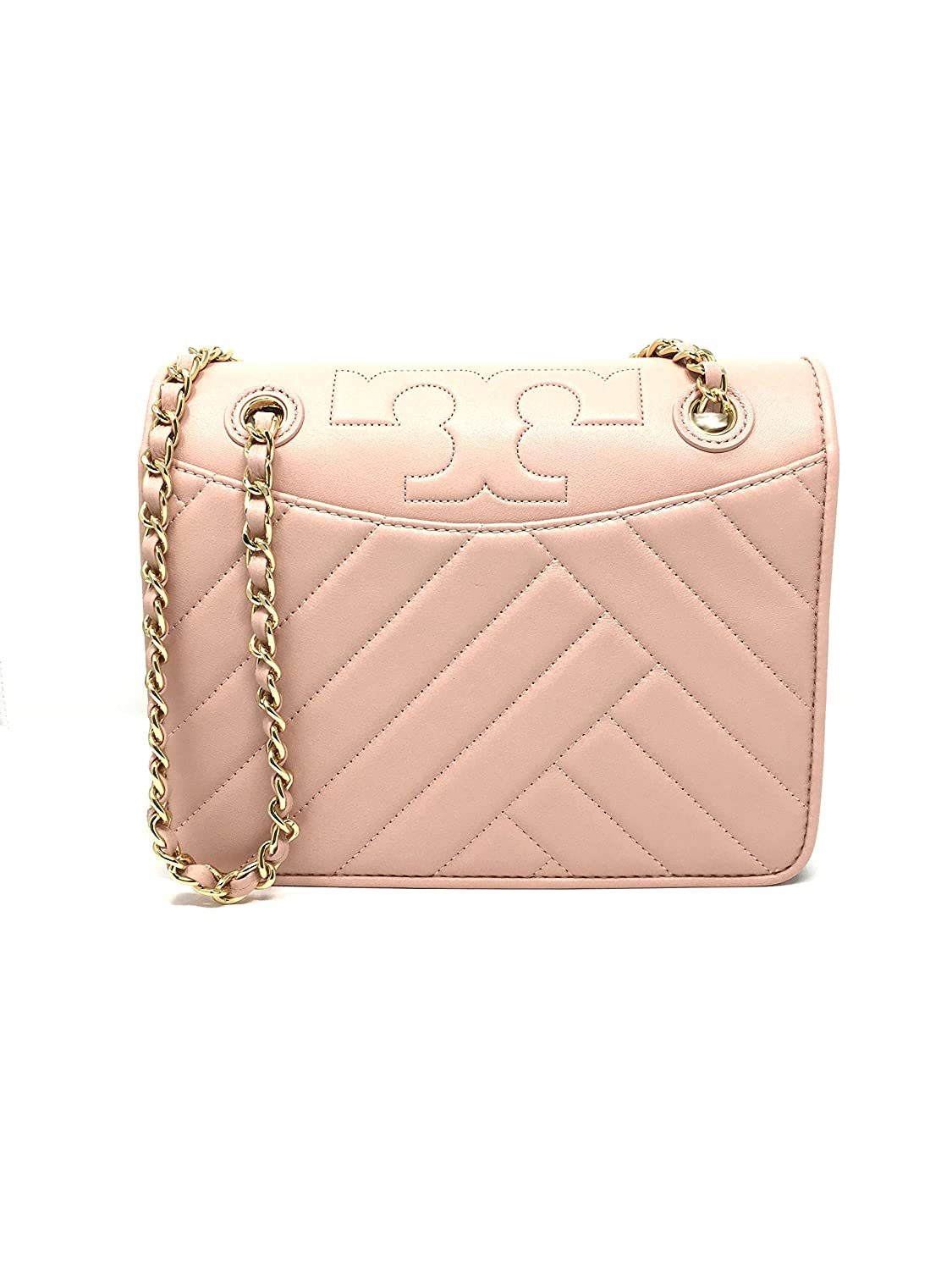 06ac589ad84c Tory Burch Alexa Convertible Shoulder Bag in Pink Quartz Style 506430418   Handbags  Amazon.com
