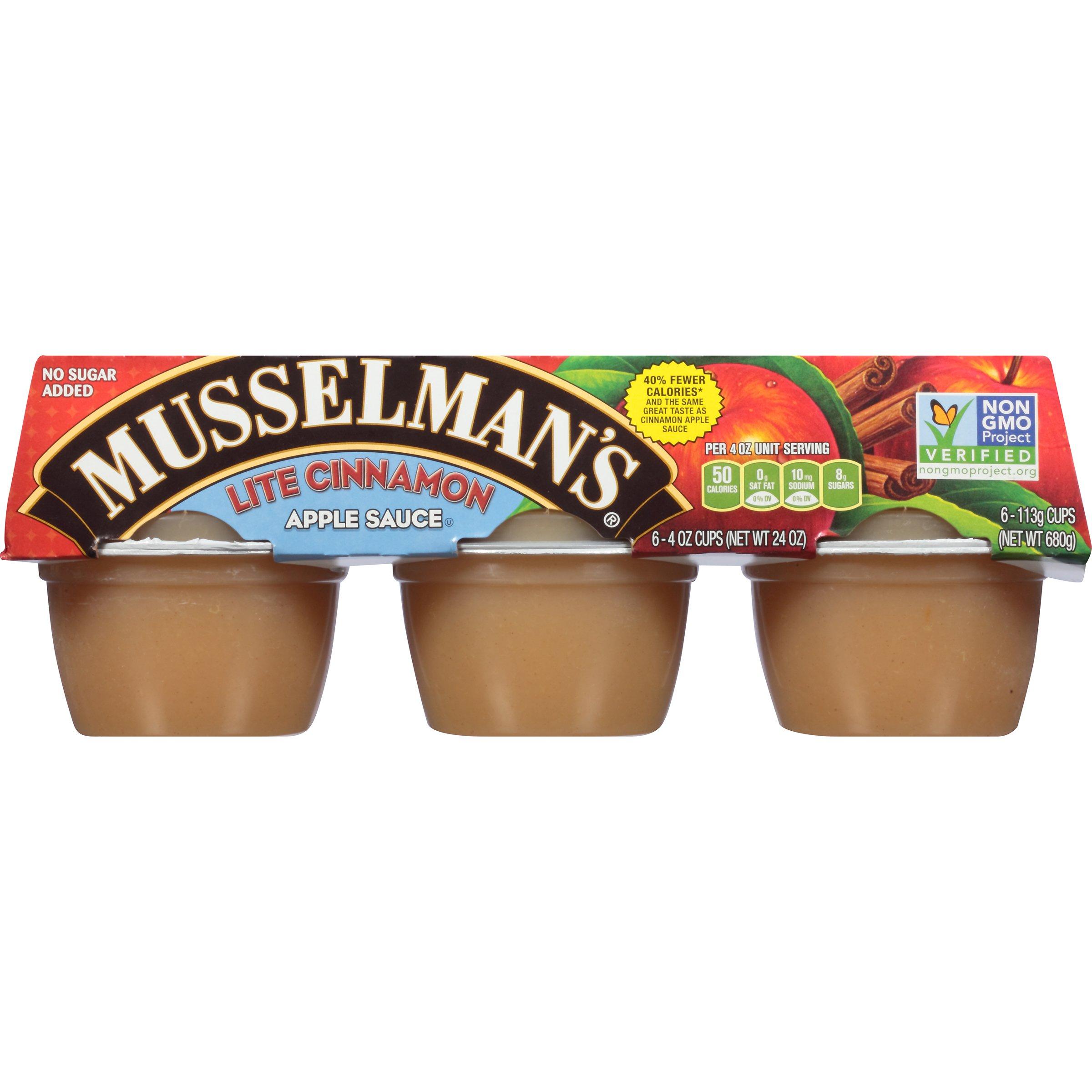 Musselman's Lite Cinnamon Apple Sauce, 4 Ounce (Pack of 12) by Musselmans (Image #4)