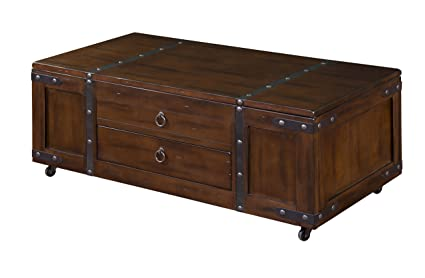 Superbe Sunny Designs Santa Fe Coffee Table With Lift Top