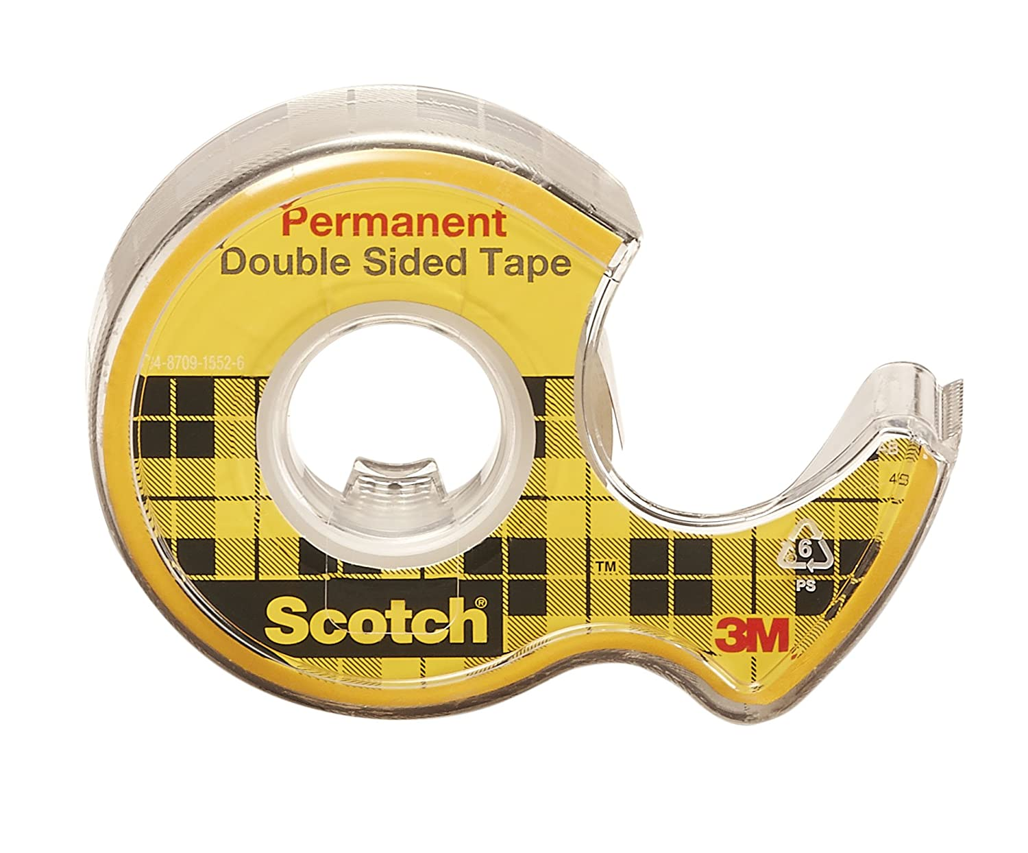 scotch double sided tape x 1 roll 136na. Black Bedroom Furniture Sets. Home Design Ideas