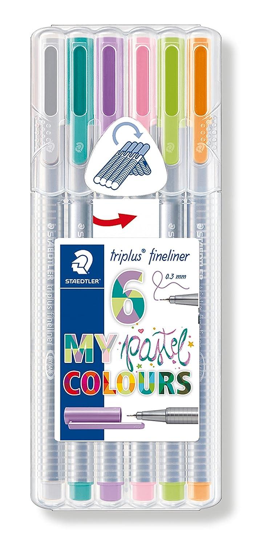 """STAEDTLER Fasermaler triplus color /""""MY flamingo COLOURS/"""" 6er"""