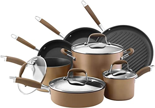 Anolon Advanced Hard Anodized Nonstick Cookware Pots and Pans Sets
