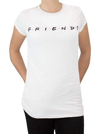 d738aa65bd912 Friends Womens Logo T-Shirt: Amazon.co.uk: Clothing