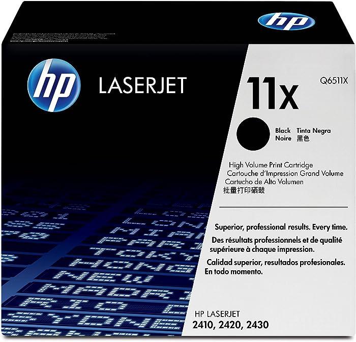 HP 11X | Q6511X | Toner Cartridge | Black | High Yield