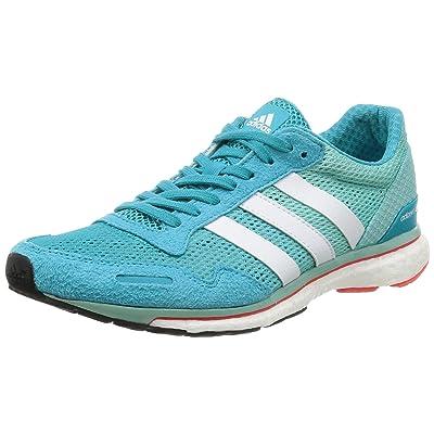 adidas Adizero Adios W, Chaussures de Course Femme, Korall/Weiß, 41 1/3 EU