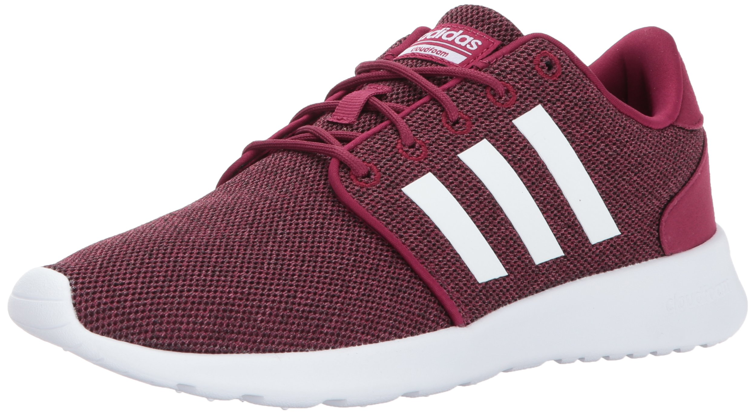 adidas Women's Cloudfoam QT Racer Running Shoe, Mystery Ruby/White/Black, ((9 M US) by adidas
