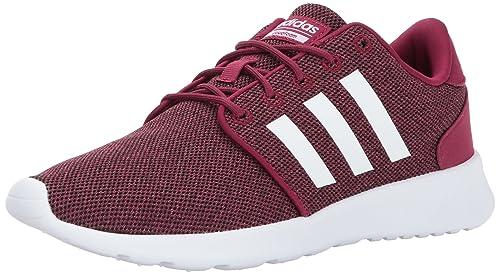 first rate 3e19c 4da7d Adidas CF Qt Racer - Zapatillas de Running para Mujer, Mystery Ruby White