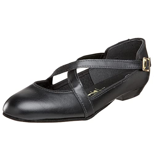 DIY Dance Shoes- Ballroom, Lindy, Swing  Dancing Flat Tic-Tac-Toes Womens Shagger $70.99 AT vintagedancer.com