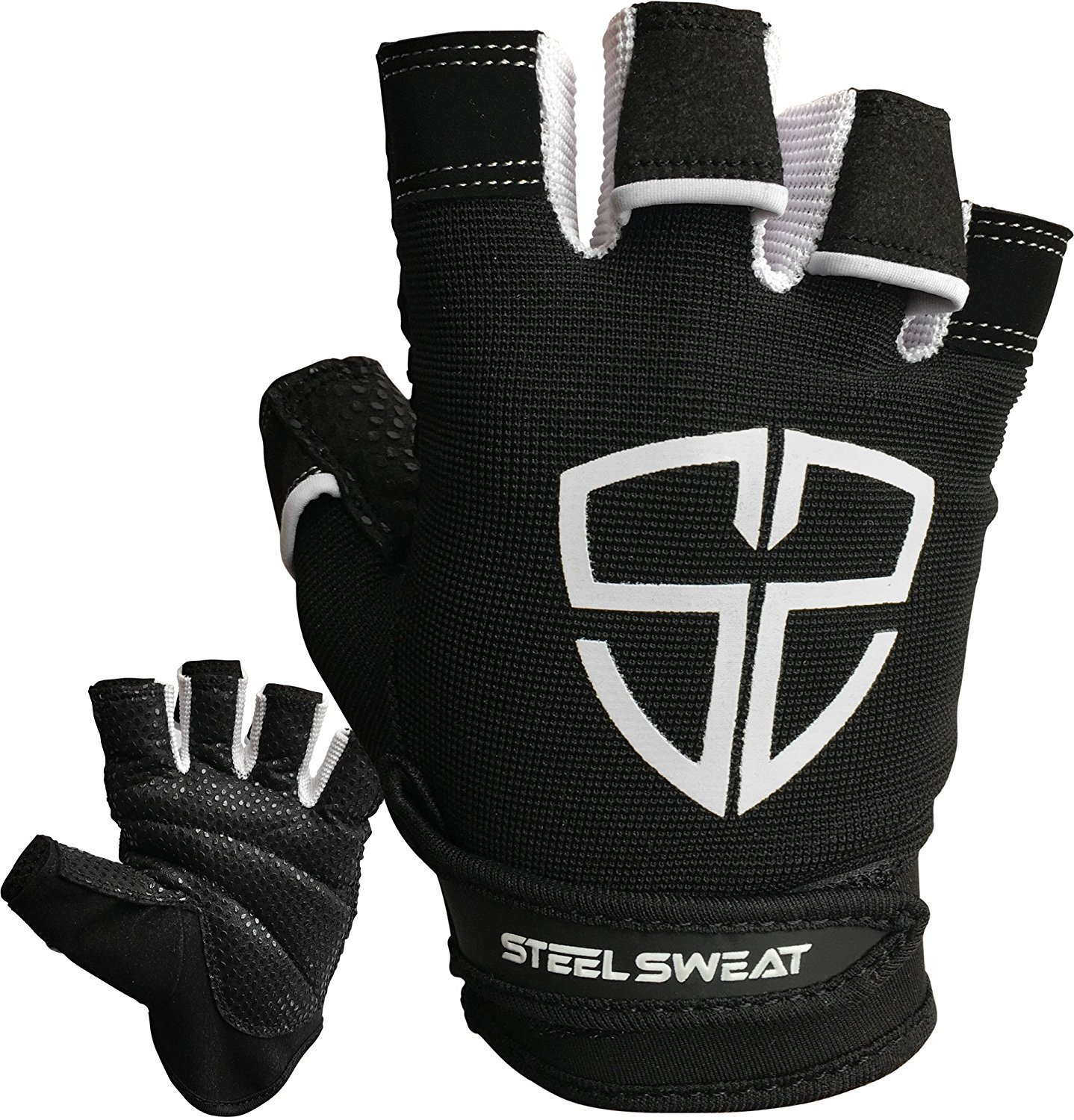 Steel Sweat Workout Gloves - Best for Gym, Weightlifting, Fitness, Training  and Crossfit
