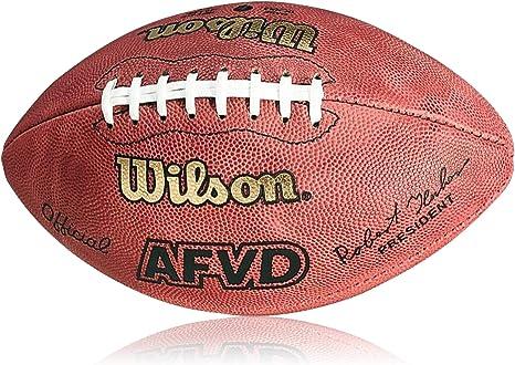 Wilson Football AFVD Game Ball, SC Senior - Balón de fútbol ...