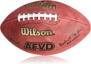 WILSON Football afvd Game Ball, SC, Rouge, Senior, wl0206101141