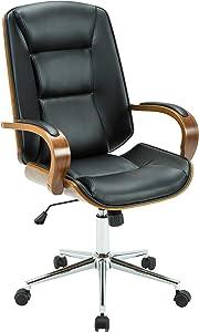 Porthos Home Austin Adjustable Office Chair Black
