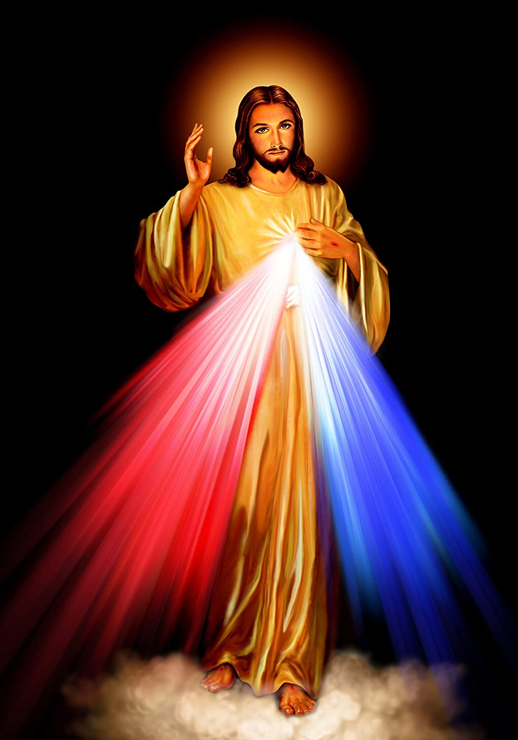 Amazon Com Divine Mercy Jesus Christ Poster A2 Print Roman Catholic Pictures Images Sacred Heart Of Jesus Painting Religious Christian Holy Wall Art Decor For Home Handmade Prepare for the first week of come, follow me 2021 here. divine mercy jesus christ poster a2 print roman catholic pictures images sacred heart of jesus painting religious christian holy wall art decor for