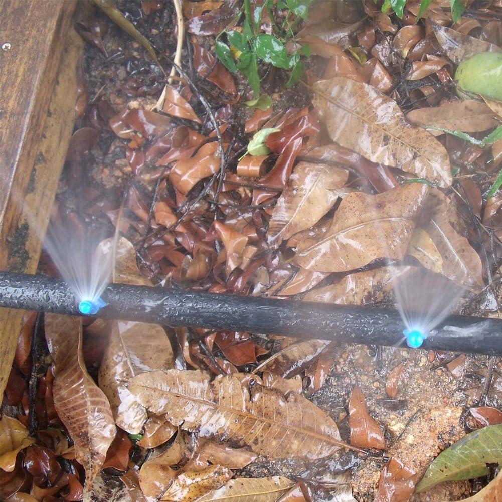 Nebulizzatore ad acqua da giardino a 90 gradi irrigazione automatica micro ugello nebulizzatore regolabili 50 pezzi sistema di irrigazione micro ugelli a goccia