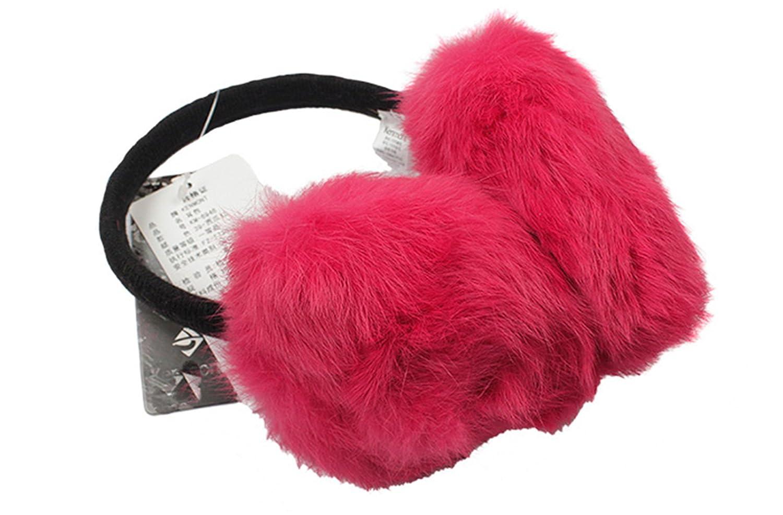 ompson Earmuffs Two Colors Of 100/% Rabbit Fu Fashion Winter Earmuffs Promotional Earflaps