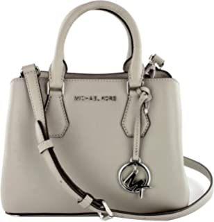 b1f4384f5d4d Michael Kors Mindy Leather Crossbody Bag Small Handbag Mulberry Red ...
