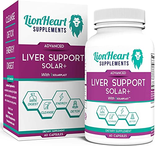 Natural Liver Cleanse Detox Repair Supplement- Doctor Formulated No Gallbladder Formula Includes Milk Thistle – Great Stone Breaker Capsule Helps Reduce Gallstones 7 Day Liver Detox 60 Capsules