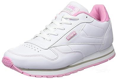 Kelme Victory, Damen Sneakers, Elfenbein (White/Rosa), 41 EU