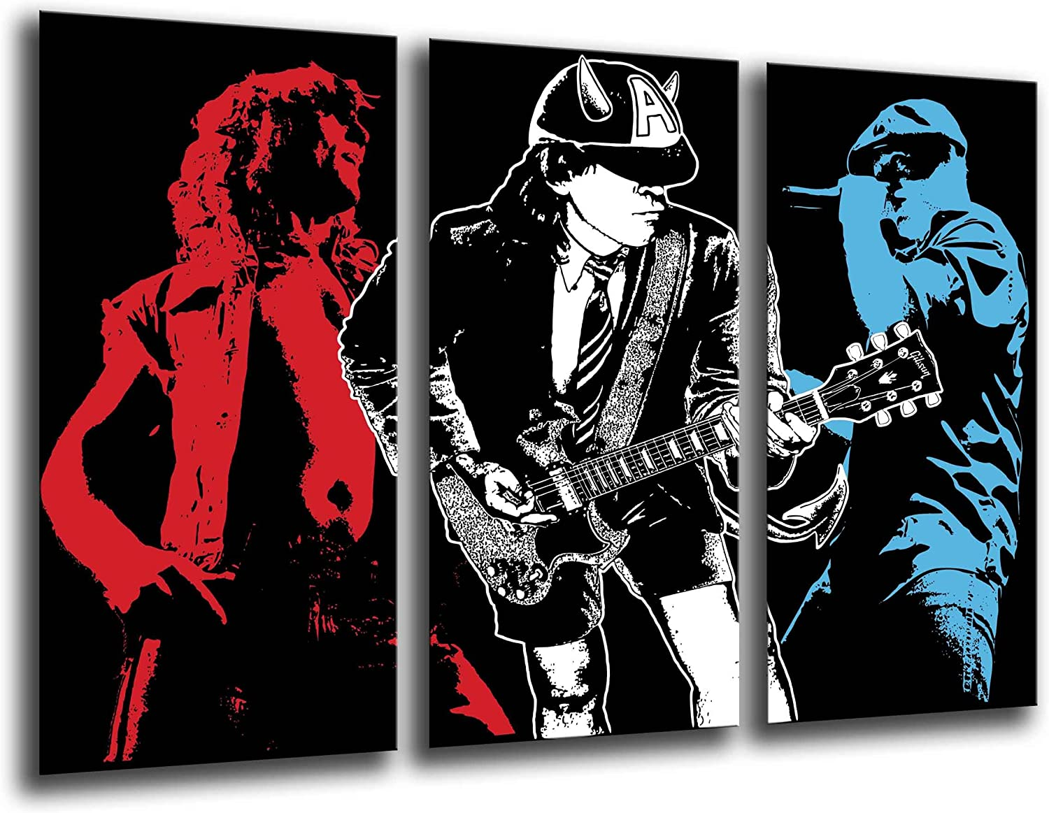Poster Fotográfico ACDC, Musica Rock Tamaño total: 97 x 62 cm XXL