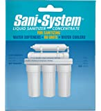 Pro Products Sani-System SS01SW0113 Liquid Sanitizer Concentrate, Single Use, 0.5 oz
