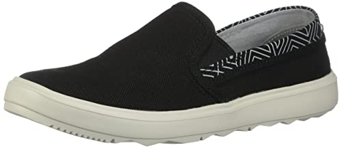 MerrellAround Town City Moc Canvas - Around Town City Mocasines con Lazada para Mujer, Negro (Negro), 7 B(M) US: Amazon.es: Zapatos y complementos