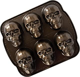 product image for Nordic Ware,,Nordic Ware Haunted Skull Cakelet Pan