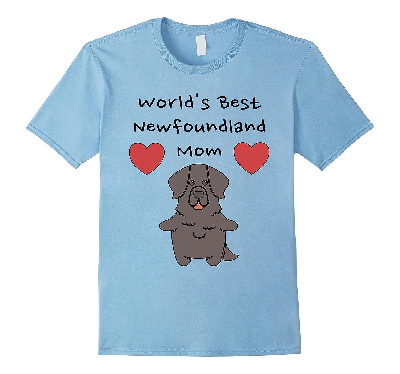 Worlds Best Newfoundland Mom - Newfoundland Mom Shirt-Art