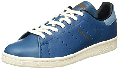 adidas Stan Smith, Sneakers Basses Homme, Bleu (Blue/Collegiate Navy/Chalk
