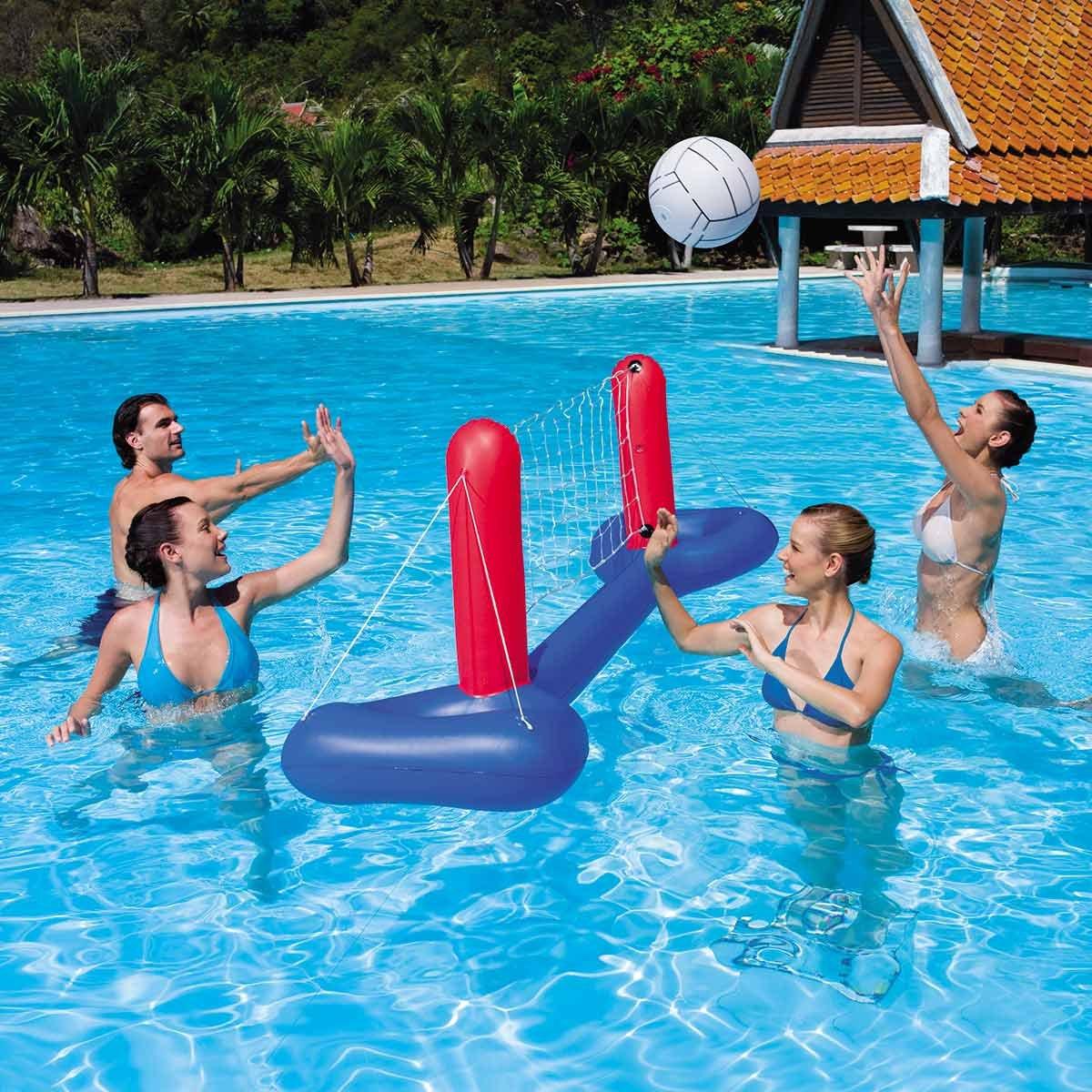 Resultado de imagen para decoracion cumpleaños de piscina