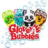 Glove-A-Bubbles Zing 4 Pack ( Series 1): 1 Elephant, 1 Lion, 1 Panda, 1 Alligator : Great for Outdoor Play | Gift for Boys and Girls